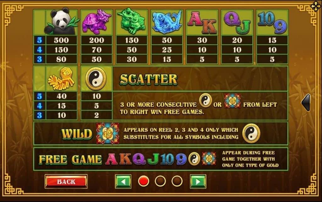 Lucky Panda โจ๊กเกอร์สล็อต Jokerslot