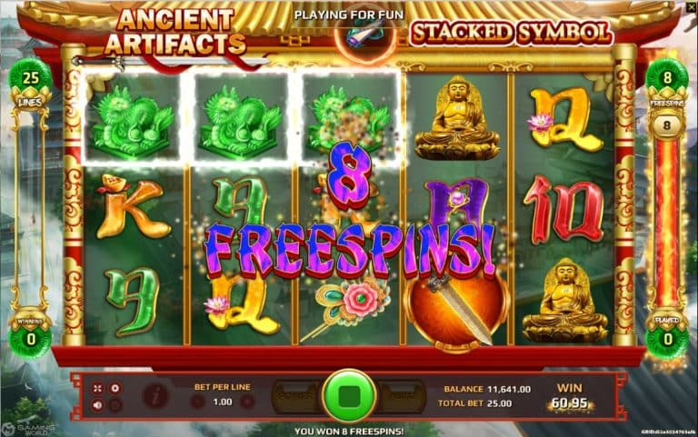 Ancient Artifacts Jokergaming slot