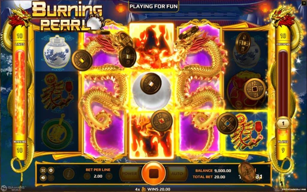 Burning Pearl game slot