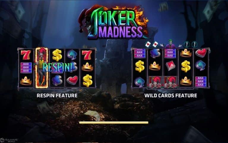 Joker Madness Jokerslot191