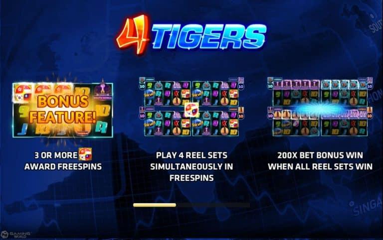 4 Tigers Joker Slot