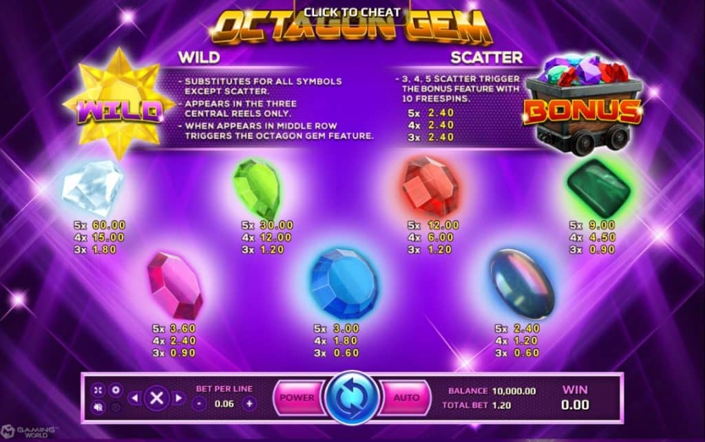 Octagon Gem Jokerslot191