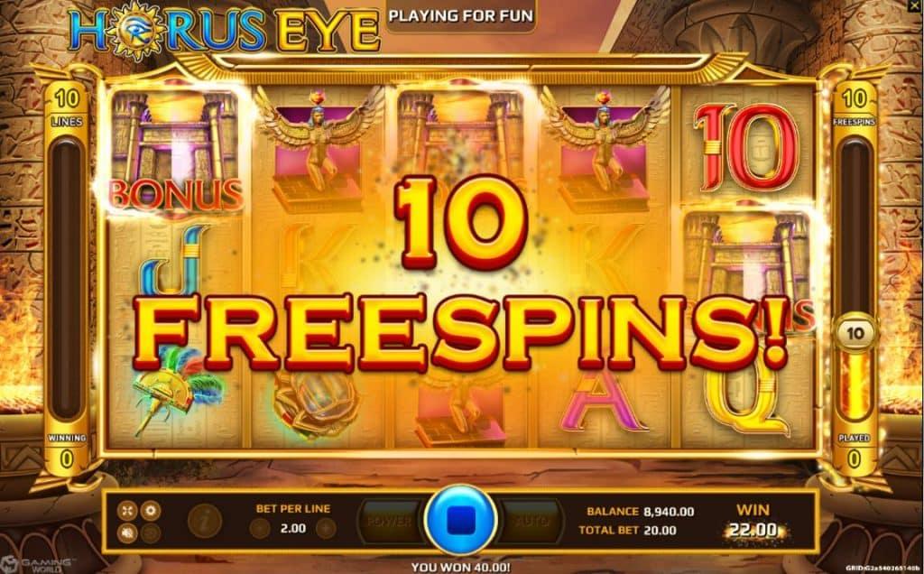 Horus Eye Jokerslot191