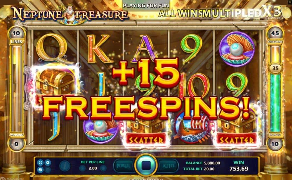 Neptune Treasure Jokerslot191